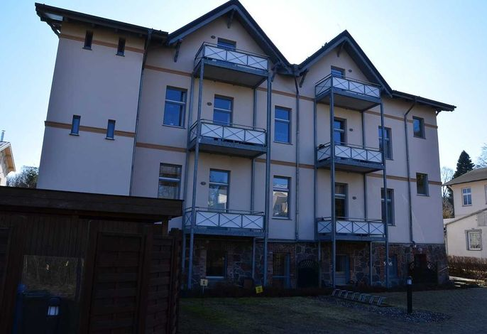 Villa Inge Appartement 1, WLAN, eigener Strandkorb