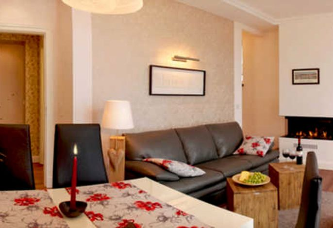 - 3-Raum-Appartement mit Gaskamin -