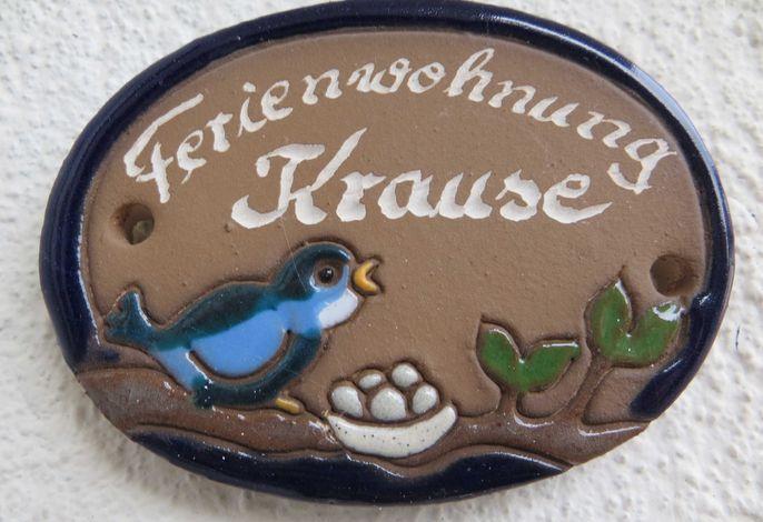 Ferienwohnung Krause SORGENFREI BUCHEN *