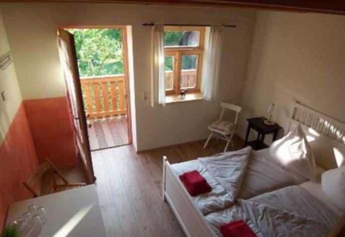 Maisonette DZ mit Doppelbett und Baumhausfeeling