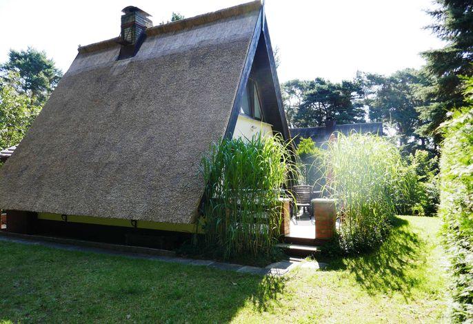 Reetdachhaus in Quilitz auf Usedom