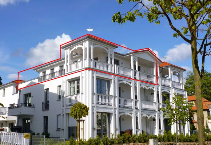 OS: Villa Annika Whg. 12 Penthouse Baltica mit Balkon