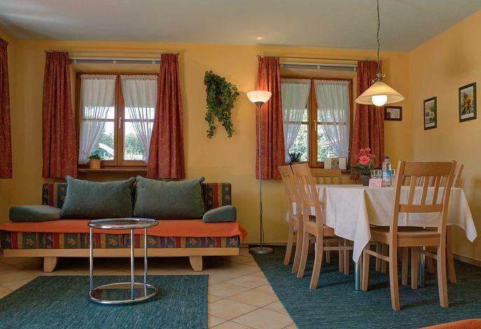 Ferienwohnung Flake 2 EG  - Wohnzimmer