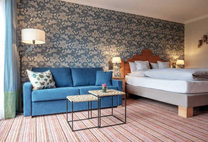 Doppelzimmer mit Sofa
