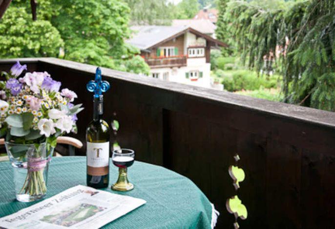 Balkon, Ferienwohnung Kraus Nr. 1
