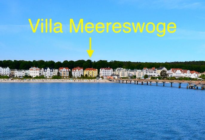 Villa Meereswoge, Ferienwohnung Goldstern