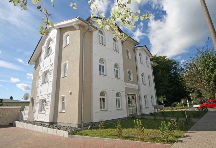 H: Villa Wilhelmine Whg. 02 Wilhelm mit Terrasse