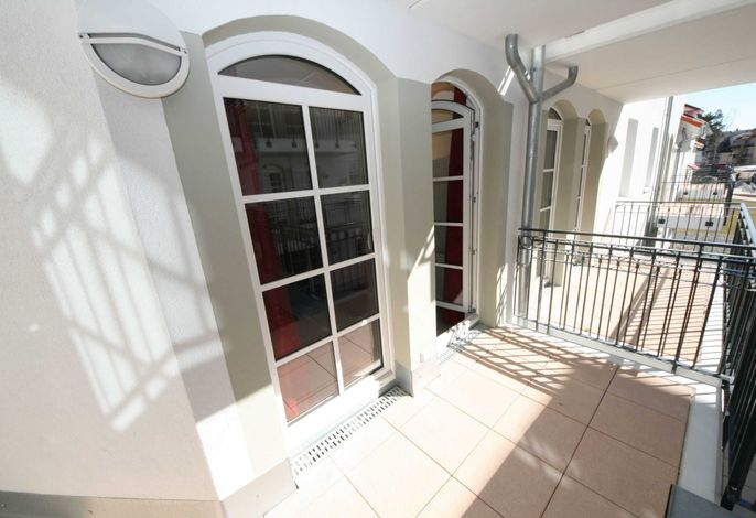 MZ: Haus Meeresblick A 1.10 Nautica mit Balkon