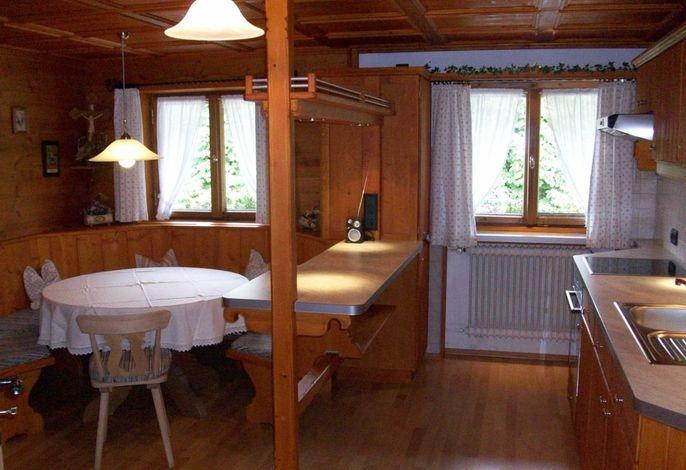 Wohnküche mit gemütlicher Sitzecke