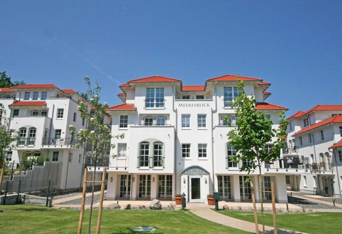 MZ: Haus Meeresblick A 4.01 Strandkorb mit Balkon
