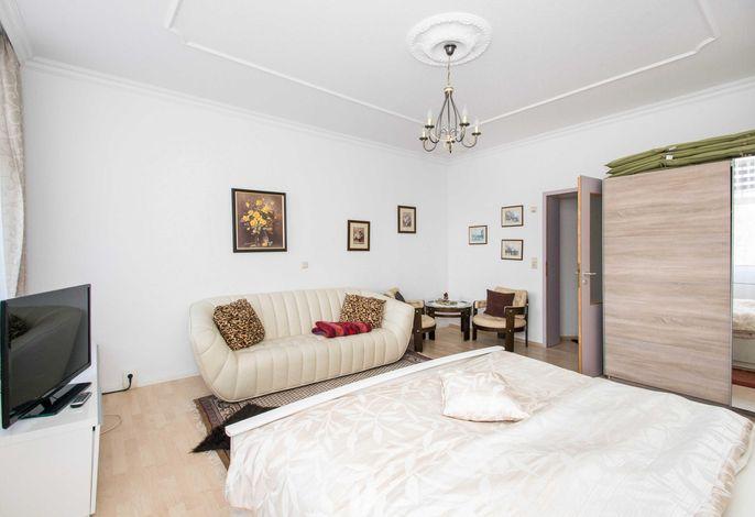 Kombinierters Wohn- und Schlafzimmer