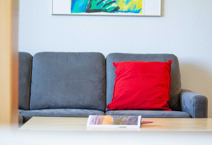 Die gemütliche Couchgarnitur