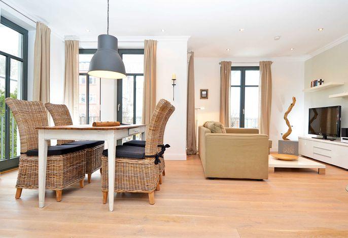 Villa Paula im Ostseebad Sellin WG 03 Wohnzimmer