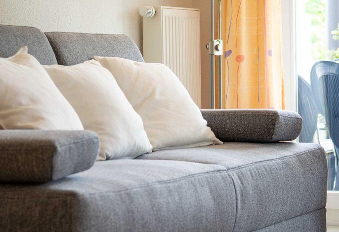 Detailaufnahme Couchgarnitur