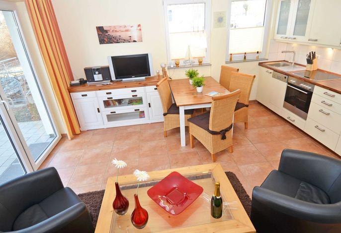 Haus Möwe im Ostseebad Sellin WG 13 Wohnzimmer