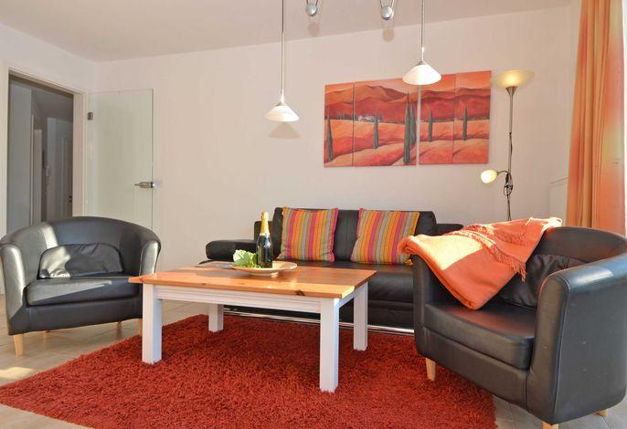 Haus Möwe im Ostseebad Sellin WG 07 Wohnzimmer