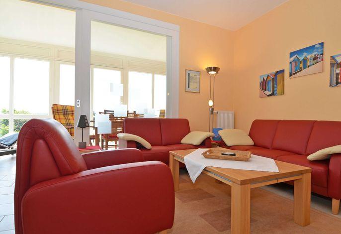 Haus Möwe im Ostseebad Sellin WG 03 Wohnzimmer