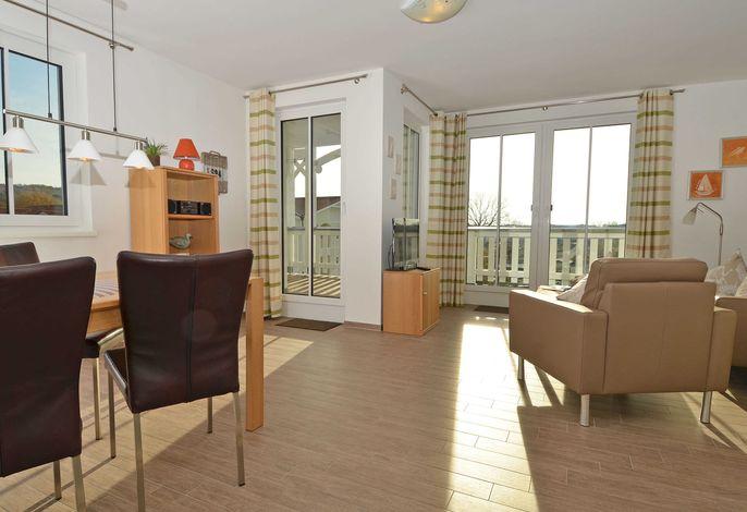 WG 11 in der Villa Annika im Ostseebad Sellin - Wohnbereich