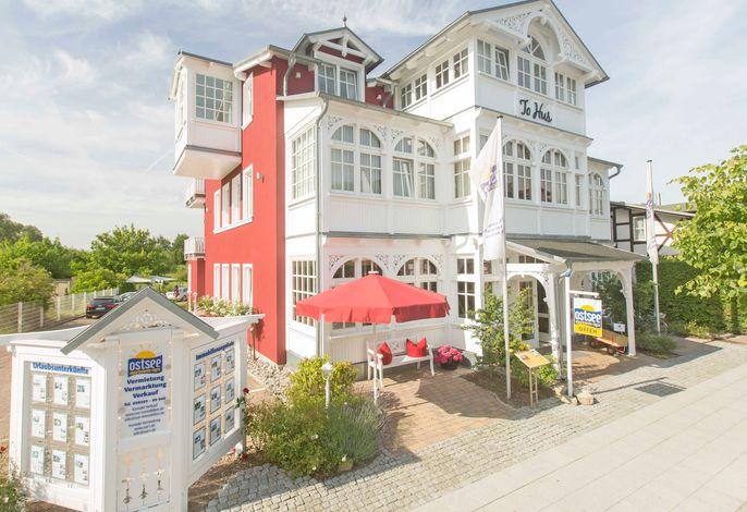 Villa To Hus F 590 WG 02 im 1. OG mit großem Balkon