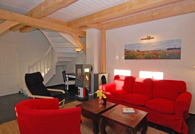 Der Wohnbereich der Haushälfte Lena Victoria in Seedorf