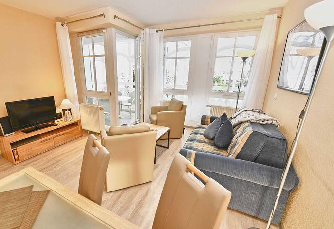Seepark Sellin Wohnung 404 im Ostseebad Sellin - Wohnzimmer