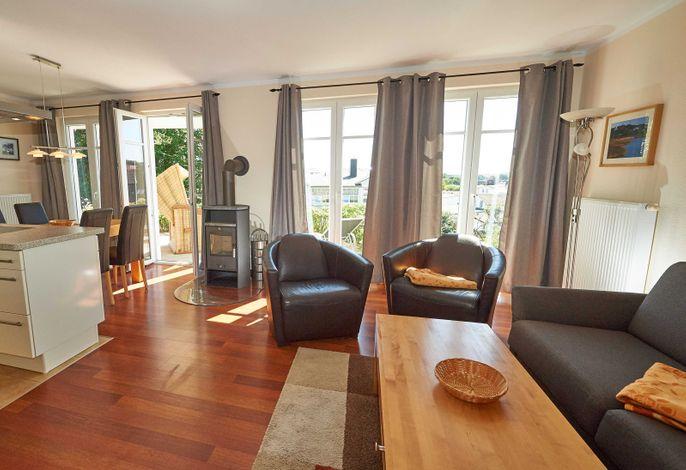Villa Sommerwind im Ostseebad Sellin - Wohnung 02 - Wohnen