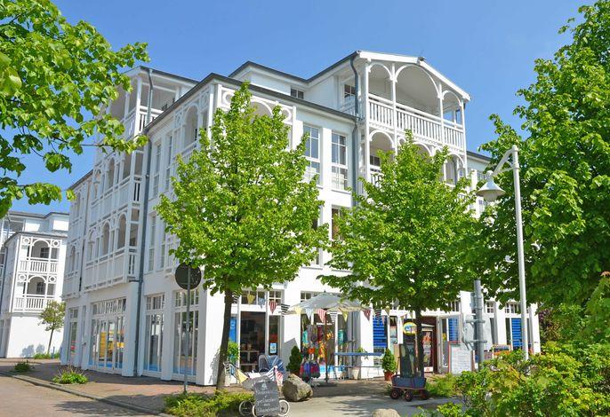 Seepark Sellin F547 WG 382 im 3. OG mit Strandkorb + Balkon