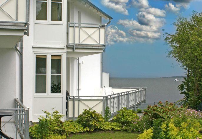 Villa Vilmblick -F554   WG 09 im Hochparterre mit Balkon