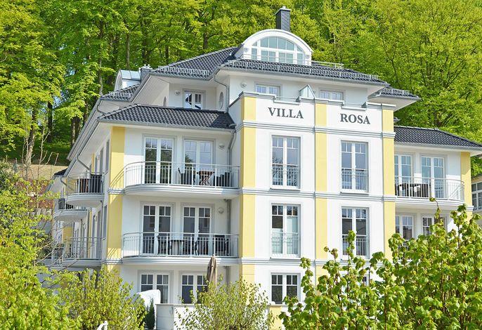 Villa Rosa F 595 WG 18 im DG mit überdachter Terrasse