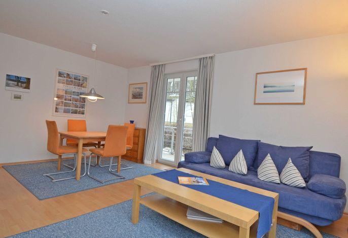 Strandwohnungen Sellin im Ostseebad   WG 04 Sellin Wohnzimmer