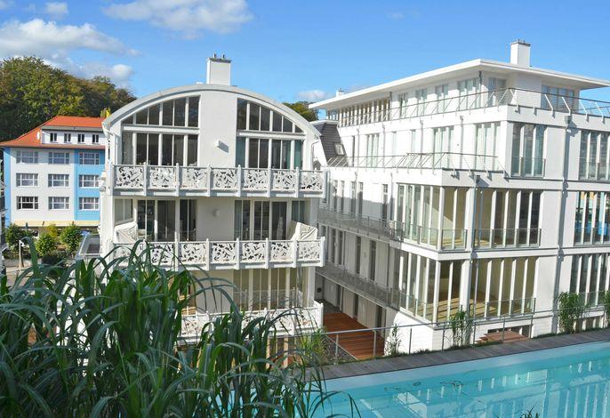 Villa Johanna -F593 | WG 13 im 2.OG mit Kamin + Balkonen