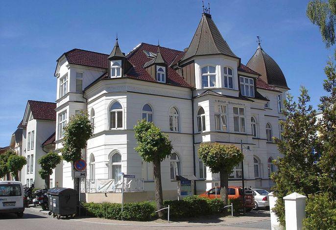 Ahlbeck, Schloss Hohenzollern - Fewo Schlosszimmerchen