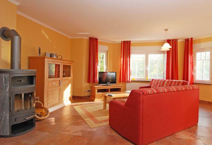 Villa am Meer im Ostseebad Sellin WG 02 Wohnbereich