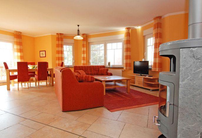 Villa am Meer im Ostseebad Sellin WG 03 Wohnbereich
