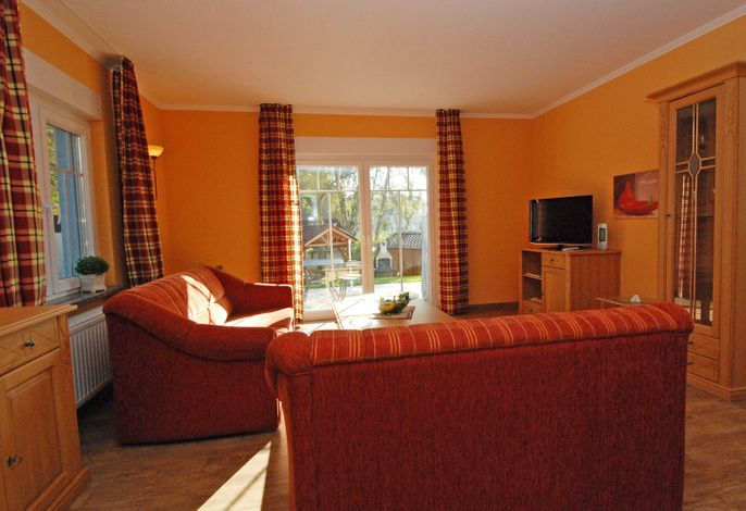 Villa am Meer im Ostseebad Sellin WG 04 Wohnbereich