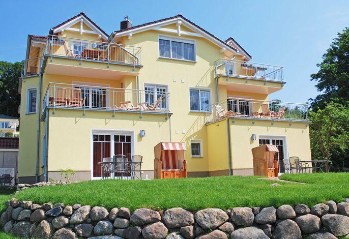 Villa am Meer F574 WG 4 Pirat im Erdgeschoß mit Terrasse