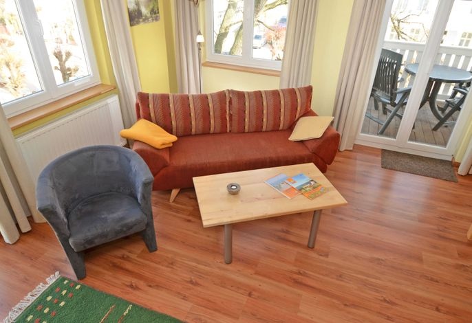 WG 06 in der Villa Seerose - Wohnbereich