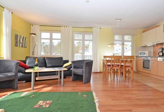 WG 08 in der Villa Seerose  - Wohnbereich