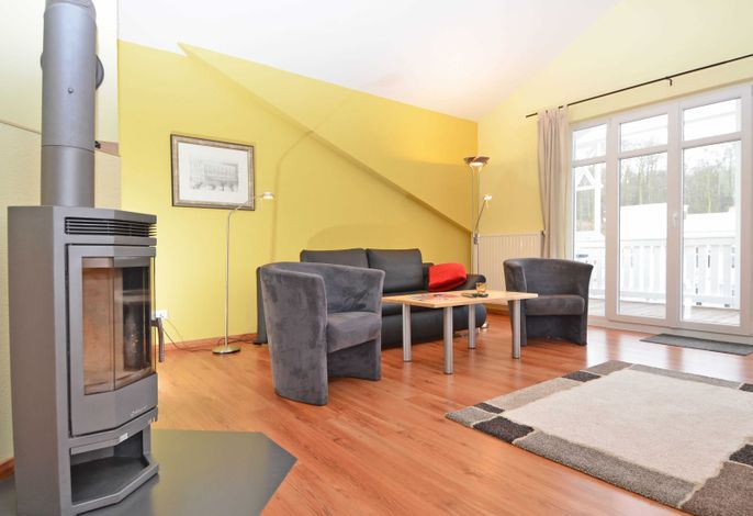 WG 10 Penthouse in der Villa Seerose  - Wohnbereich