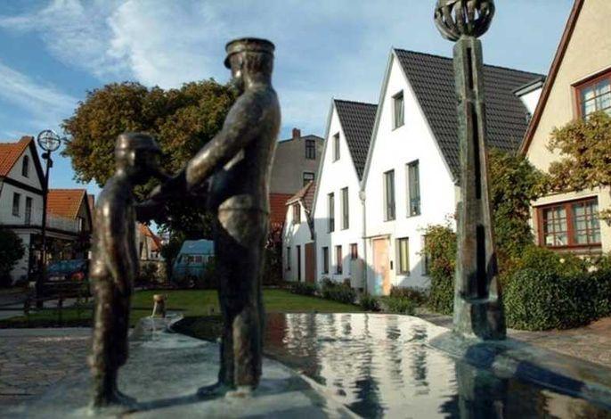 Warnemünde: Ferienwohnung in der Altstadt (G)