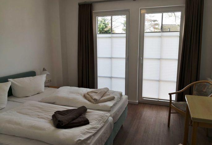 Doppelzimmer mit Terrasse