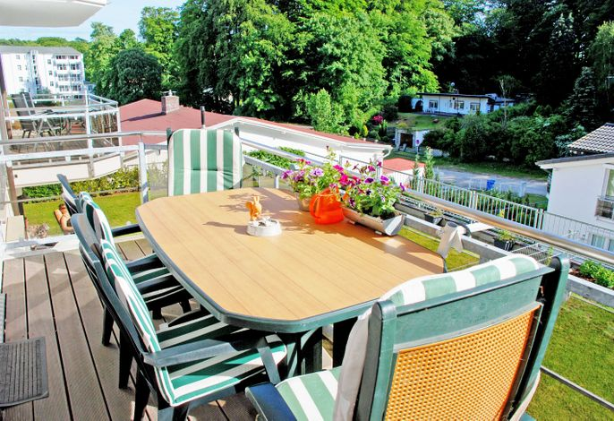 Ferienwohnung Möwennest mit Balkon