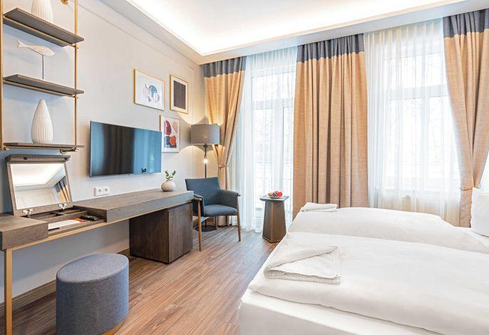 Pommerscher Hof: Komfort Doppelzimmer Balkin