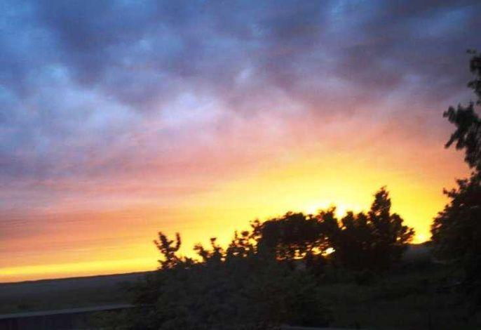 Lod - Abendsonne