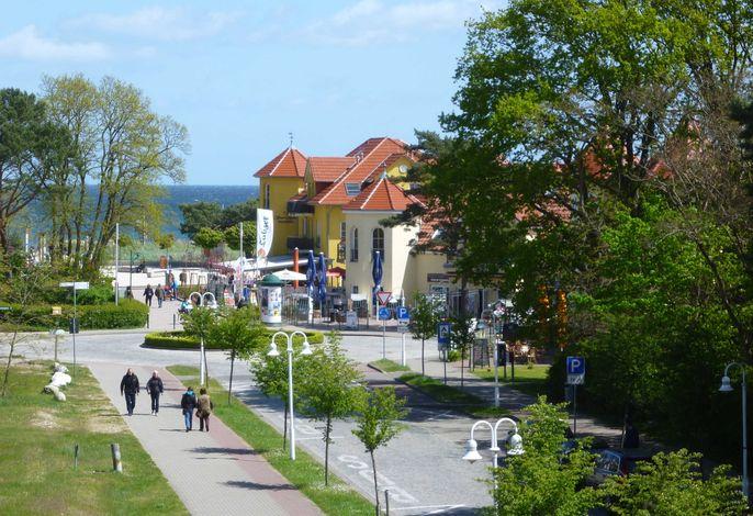 FEWO Ostseeblick,  MEERBLICK vom Wohnz. u. Balkon