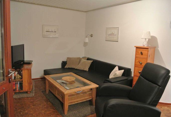 Wohnzimmerecke mit Sessel
