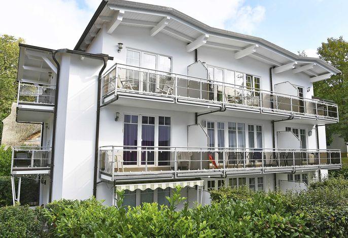 Strandwohnungen in Sellin F 571 WG 02 im EG mit Terrasse