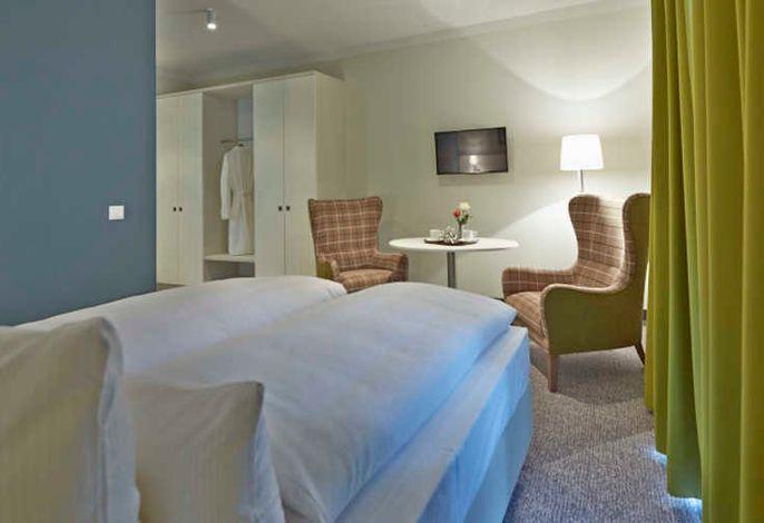 Schlafbereich Doppelzimmer Superior
