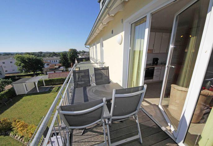 H: Haus Möwe II Whg. 09 mit Balkon