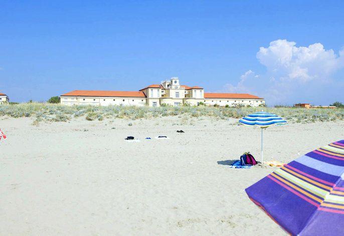 Dünenresidenz Regina-Elena, privater Strandzugang, Meerblick